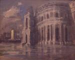 Rückseite: Erich Seidel, Rabenau/Dresden Opernhaus Dresden 1948
